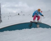 Snowboard camp Les 2 Alpes Girliecamps