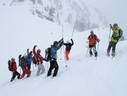 Ski touring Freeride Girliecamps Alps